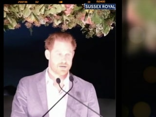 Prince Harry speaks out for the first time since announcing plans to step back from Royal family