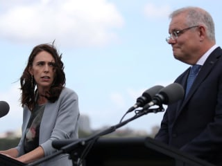 New Zealand PM Jacinda Ardern berates Australia's Scott Morrison about deportations