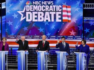 Watch the full NBC News/MSNBC Democratic debate in Las Vegas
