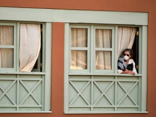 Spanish island hotel on lockdown, as coronavirus spreads