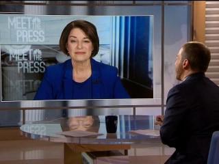 Full Klobuchar: Bloomberg 'just can't hide behind the airwaves'