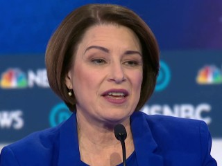 Klobuchar: 'We have not been talking enough about Donald Trump'