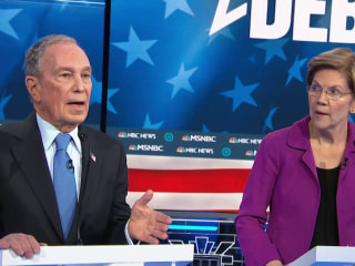 Warren targets Bloomberg for his company's non-disclosure agreements