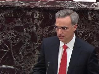 Cipollone calls on senators to 'end the era of impeachment'