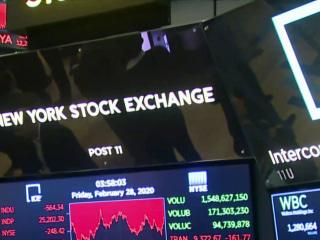 Wall Street closes worst week since financial crisis amid coronavirus fears