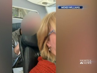 Viral video sparks debate over whether it's okay to put your seat back on an airplane