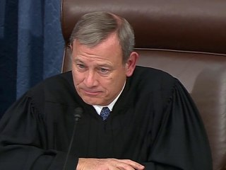 Roberts says he won't be tie-breaking vote in impeachment trial