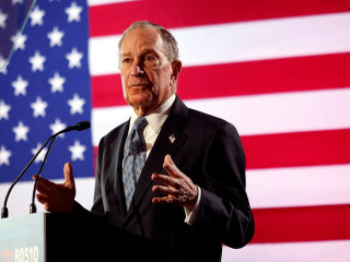 Looking at the rise of Michael Bloomberg ahead of Democratic debate