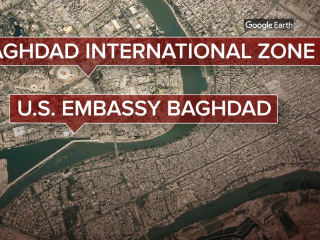 Rocket attack strikes near U.S. Embassy in Iraq