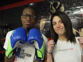 This woman's boxing class helps young people on the autism spectrum