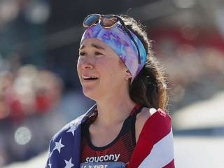 U.S. woman qualifies for Olympics after competing in first-ever marathon