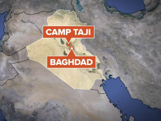 Rockets hit coalition military base in Iraq, injuring 5