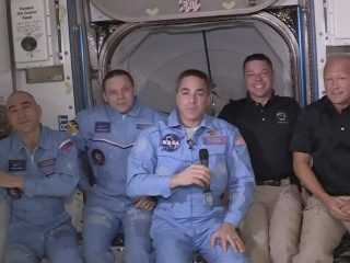 SpaceX Dragon Endeavour arrives at International Space Station
