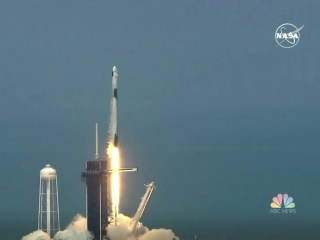 Historic space launch a reminder that there's reason for hope