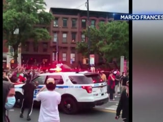 NYPD facing backlash for handling of George Floyd protests