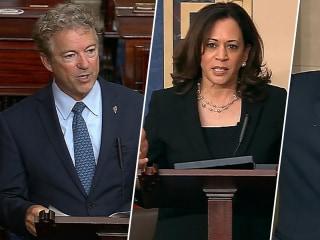 Paul, Harris and Booker debate on anti-lynching bill erupts on Senate floor