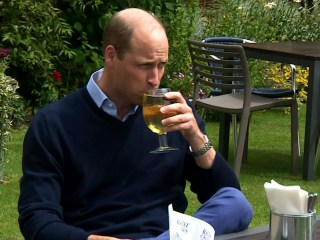 Prince William visits pub ahead of cautious U.K. reopening
