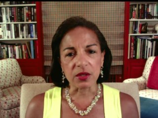 Susan Rice: Trump doing 'our arch adversary's bidding'