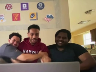 Future Harvard law student discusses his viral acceptance video