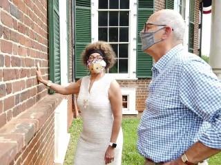 Black descendants of Thomas Jefferson speak out at Monticello