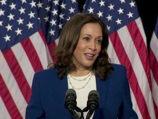 Sen. Harris gives first speech as Biden's running mate: 'I am ready to work'