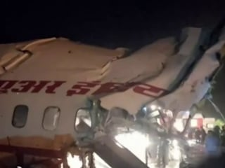 Passenger plane crashes in India, at least 16 killed