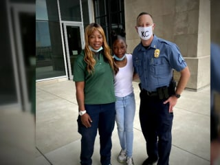 Community gives back to mom who donated scratch-off winnings to injured officer