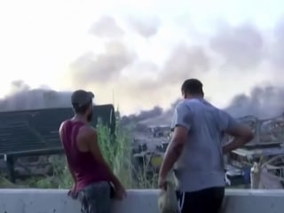 'You couldn't even breathe': Witnesses describe the massive Beirut explosion
