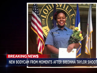 Body camera footage reveals aftermath of Breonna Taylor's death
