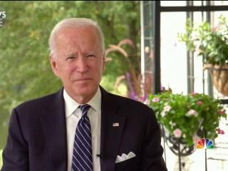 One-on-one with Joe Biden ahead of Tuesday's debate