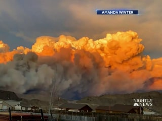 Largest wildfires in Colorado history burn just 10 miles apart