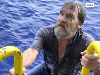 Rescued boater shares more details about his ordeal at sea