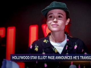 Outpouring of support after actor Elliot Page announces he's transgender