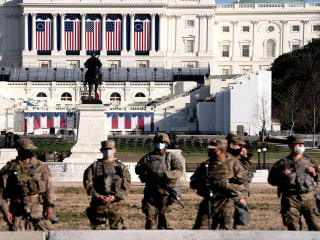 National Guard deployed to state Capitols ahead of Inauguration Day