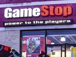 GameStop shares surge more than 100 percent amid executive shakeup