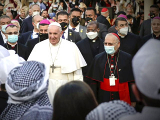 Pope Francis concludes his historic trip to Iraq