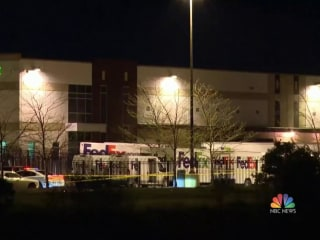 Gunman kills 8 and injures at least 4 others at FedEx facility