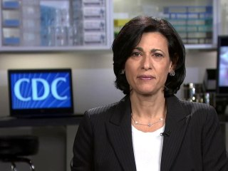 CDC director: We're 'looking at' whether it's still necessary to wear a mask outdoors