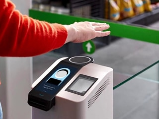 Soon you may be able to pay for groceries with a swipe of your hand
