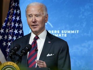 'We have to step up': Biden sets goal to cut U.S. greenhouse gas emissions in half