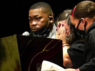 Funeral for Daunte Wright held as alternate juror in Chauvin trial speaks out
