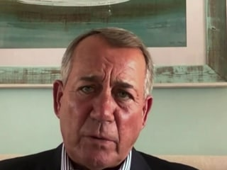 Former Speaker Boehner discusses GOP's future, U.S. political division