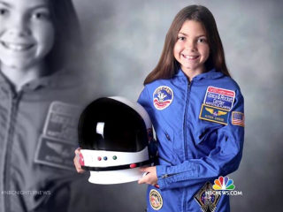 13-Year-Old Girl Plans to Be First Astronaut to Walk on Mars