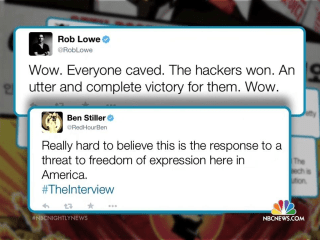 Celebrities Slam Sony's Decision to Pull 'The Interview'