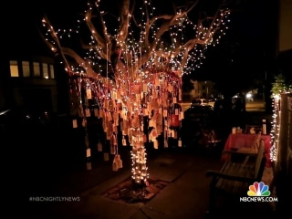 Why a San Francisco Christmas Tree Is Decorated With Wishes