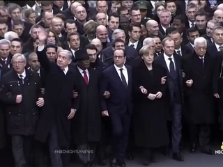White House Admits Mistake in Absence at Paris Unity Rally