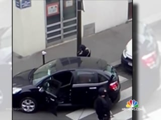 New Video Shows Charlie Hebdo Gunmen Moments After Attack