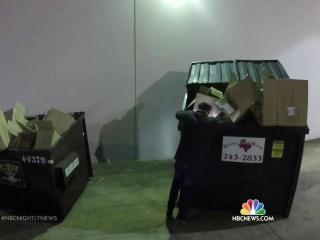 Professional Dumpster Diver Turns Trash Into Treasure