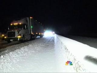 Snow Storm Strands Hundreds on Alabama Highway