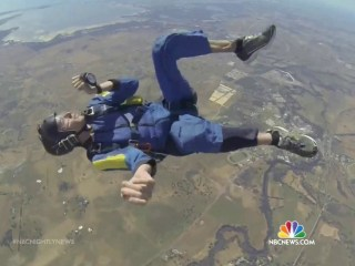 Video Captures Dramatic Rescue of Skydiver After Midair Seizure